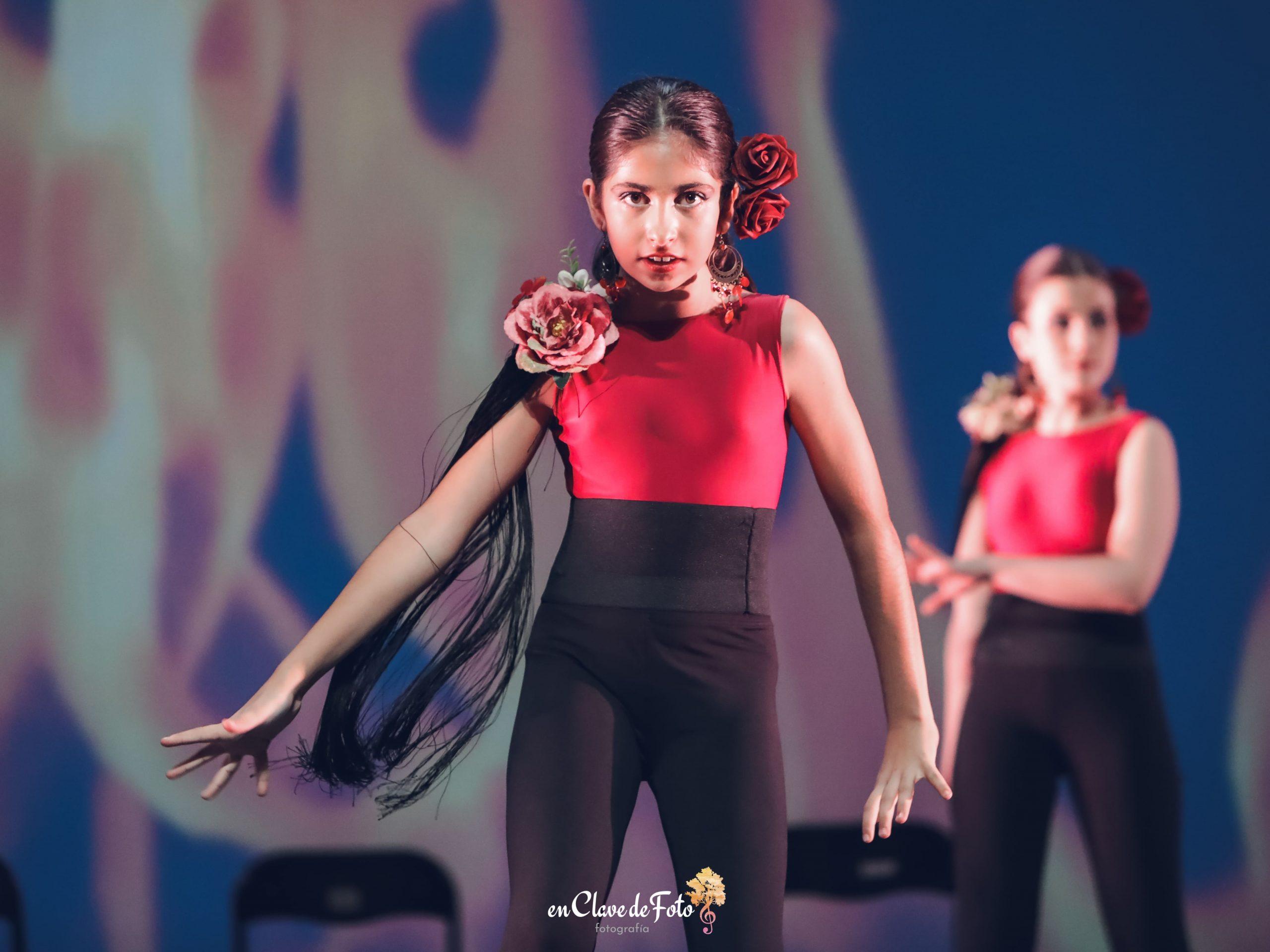danza concha niñas ballet
