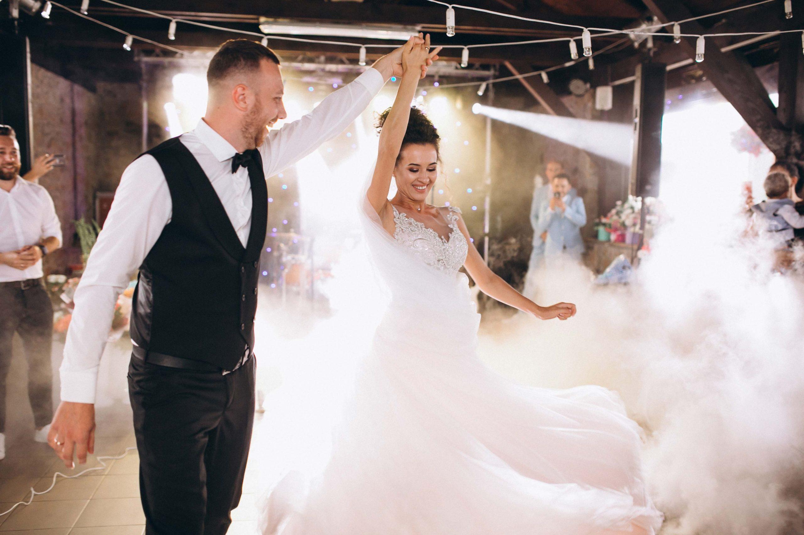 baile nupcial boda concha